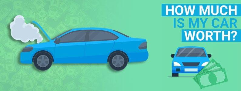 how much is my car worth, car value estimator, car value