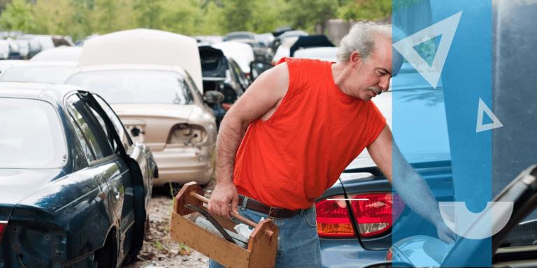 Pick and pull parts yard